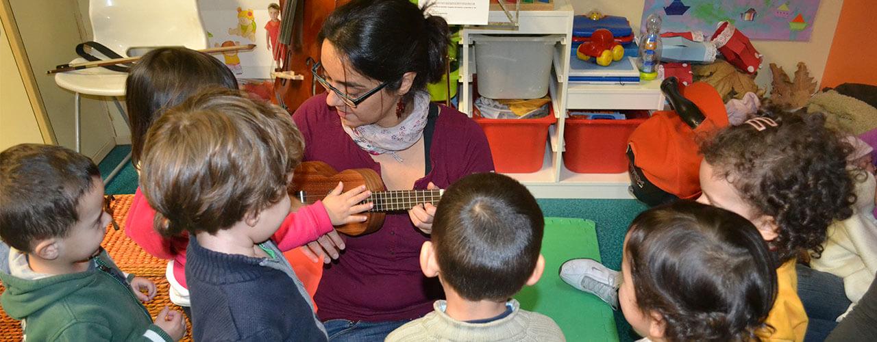 música en escuelas infantiles-dobemol Actividades Musicales