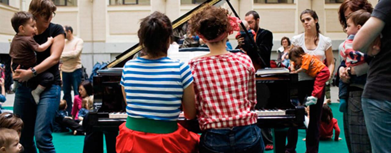 Pía, pía, piano dobemol Actividades Musicales