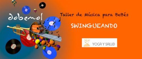 swingueando taller de música para bebés