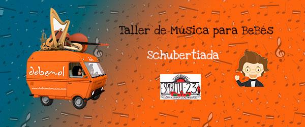 taller de música para bebés Schubertiada